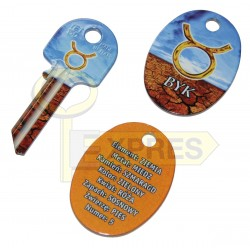 Pendant + key Byk