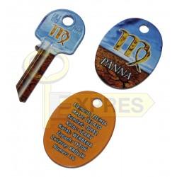 Pendant + key Panna
