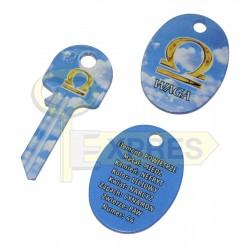 Pendant + key Waga