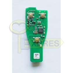 TA12 - PCB for Mercedes IR key fob case with chrome 433Mhz