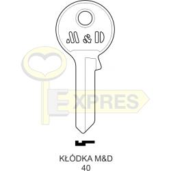 Kłódka M&D 40