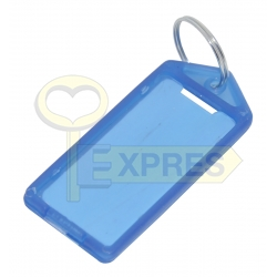 Two-sided large identifier blue (50 pcs)