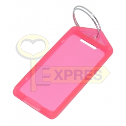 Two-sided large identifier pink (50 pcs)