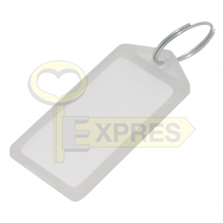 Two-sided large identifier white (50 pcs)