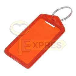 Two-sided large identifier red(50 pcs)
