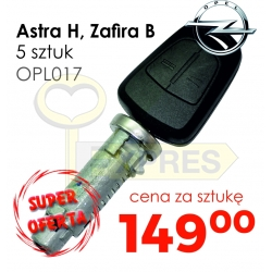 Asta H, Zafira B (5 pcs)
