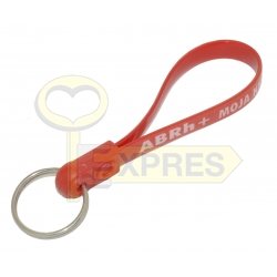 Key ring on the belt - Blood group ABRh+
