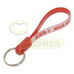 Key ring on the belt - Blood group BRh+