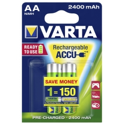 AA - Akumulatorek VARTA ACCU READY TO USE 2400 mAh NiMH