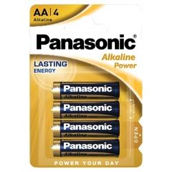 AA - PANASONIC ALKALINE - LR6 - 1,5V