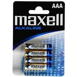 AAA - MAXELL ALKALINE - LR03 - 1,5V