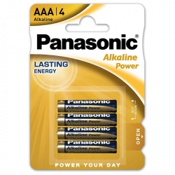 AAA - PANASONIC ALKALINE - LR03 - 1,5V