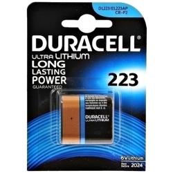 CR-P2 - DURACELL - 223 - 6V