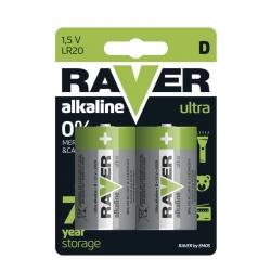 LR20 - RAVER ULTRA ALKALINE - 1,5V