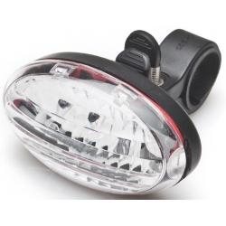 Lampa rowerowa przednia 5 LED, światło białe, uchwyt w komplecie, FALCON EYE