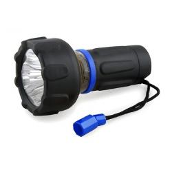 Latarka turystyczna TRAVEL LIGHT, 2w1, 3x0,2W LED