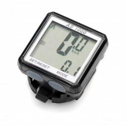 Licznik rowerowy, Mactronic BPM-08WL, 8 funkcji, bezprzew. bateryjny (1x AG13)