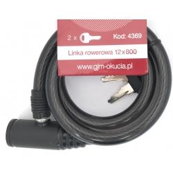 Linka rowerowa GJM 12x800 - 2 klucze