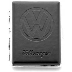 Papierośnica skórkowa tłoczona VW - LICENSED by VOLKSWAGEN