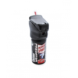 Ręczny Miotacz Pieprzu 50 ml PREDATOR dioda LED - STRUMIEŃ (ŻEL)