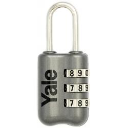 Yale YP2 23mm - bagażowa kłódka szyfrowa z możliwością zmiany kodu
