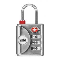 Yale YTP1 32mm - bagażowa kłódka TSA szyfrowa z możliwością zmiany kodu