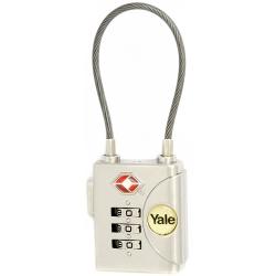 Yale YTP3 32mm - bagażowa kłódka TSA szyfrowa z możliwością zmiany kodu