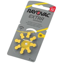 10 - RAYOVAC EXTRA - do aparatów słuchowych - 1,45V (8-pak)