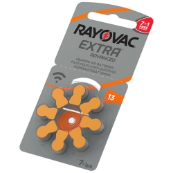 13 - RAYOVAC EXTRA - do aparatów słuchowych - 1,45V (8-pak)