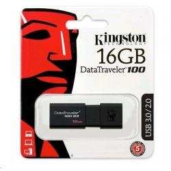 Pendrive - Kingston DT100 G3 - USB 3.1 - 16GB