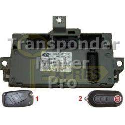 Software module 112 – Fiat, Lancia, PSA BSI Marelli type 3