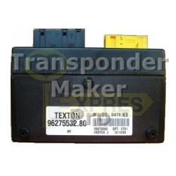 Software module 133 – Citroen Xantia CPH Texton ID48