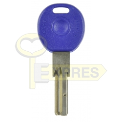 Cylinder key for POWER lock