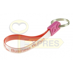 Key ring on the belt - Business woman