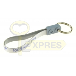 Key ring on the belt - 100% Mężczyzna