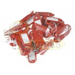 Identifier ID K9 dark red (50 pcs)