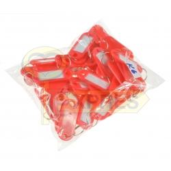 Identifier ID K6 light red (50 pcs)