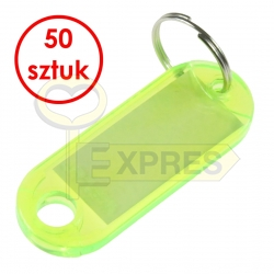 Two-sided identifier light green(50 pcs)