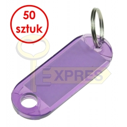 Two-sided identifier violet (50 pcs)