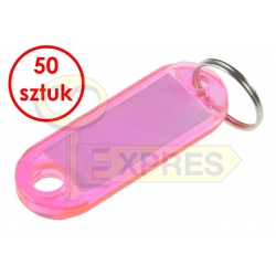 Two-sided identifier light pink (50 pcs)