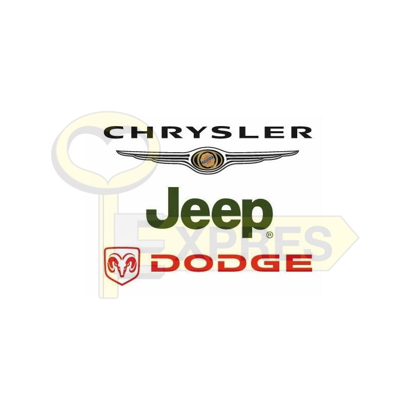 Converting PIN/KEY CODE from VIN to CHRYSLER/DODGE/JEEP