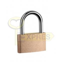 Brass snap padlock KD 20 LOB