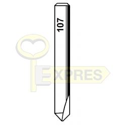 Frez H107 HSS