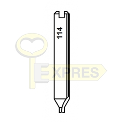 Frez H114 6x40x2 HSS 3 ostrza
