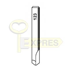 Frez W123 6x40x09-76 2 ostrza Widia