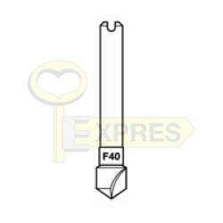 Frez F40 HSS