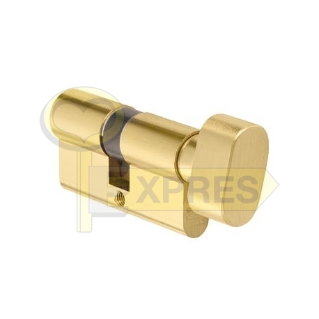 Cylinder with a knob KD10MM 30/30G