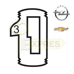 "P-23-113 ""3"" ALL (25 pcs.)"