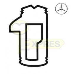 """Tumbler Mercedes HU46P """"1"""" ALL RIGHT (25 pcs.)"""