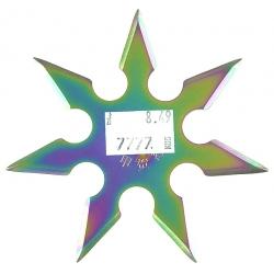 Gwiazdka 7-ramienna - RAINBOW